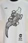 Kambal Design, Black print on white shirt