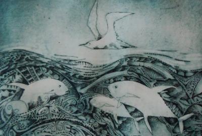 Ben Hodges, Wei' Num Aboriginal and Torres Strait artist