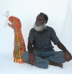 Sid Bruce Short Joe, Pormpuraaw artist