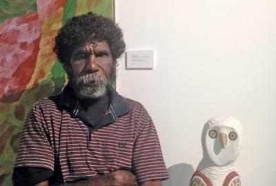 Garry Namponan Aurukun Artist
